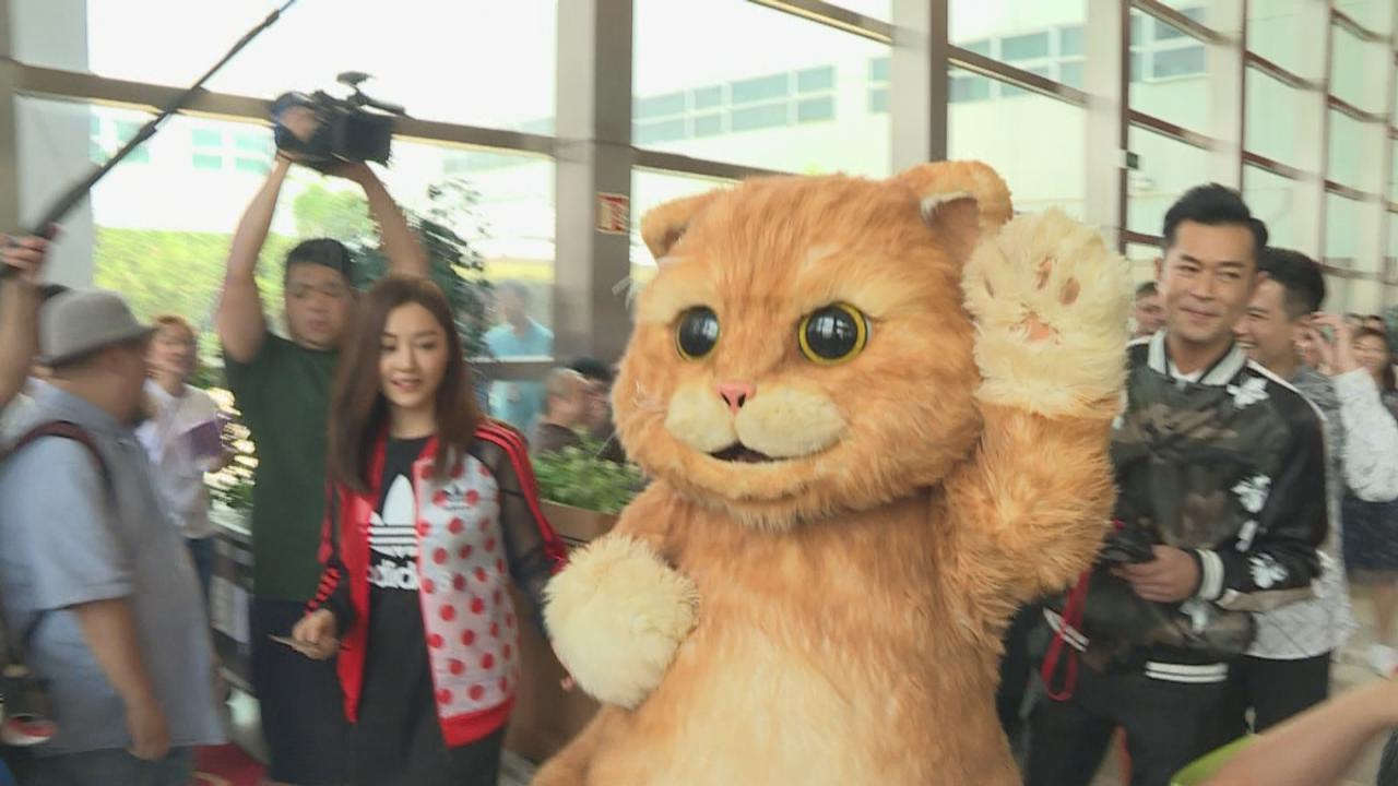 古天樂重臨TVB引起哄動 犀犀利大明猩一見如故