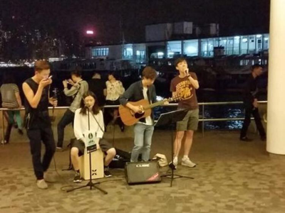 BigBigChannel live busking 1