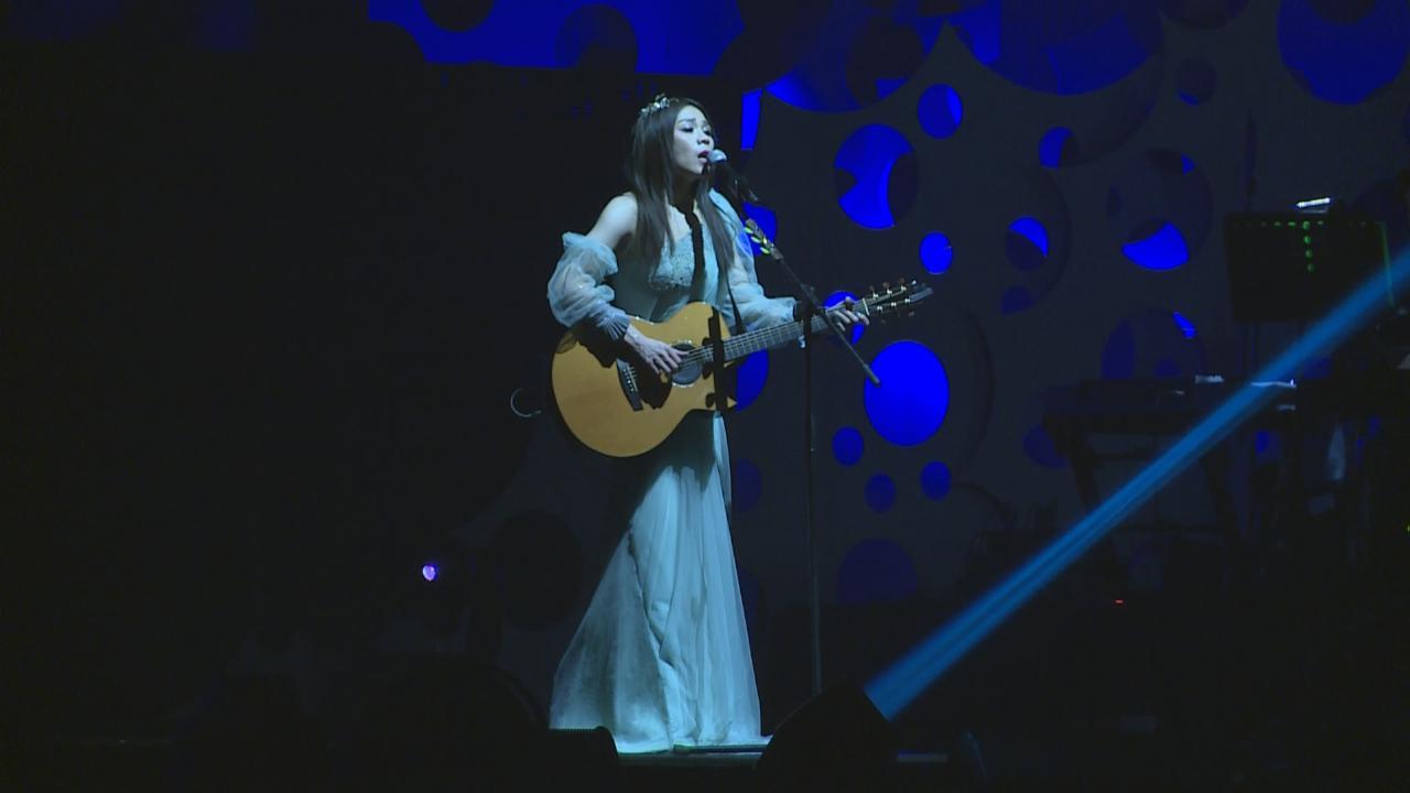 (國語)蔡健雅香港演唱會尾場 賣力獻唱回饋歌迷
