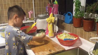 Maxi , my junior chef ???