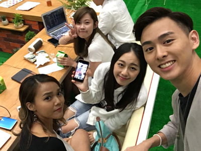 2017-06-27 鄧家禮KLVincent的直播 Filming