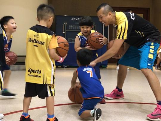 20170628 Aaric 尚志 BB籃球班