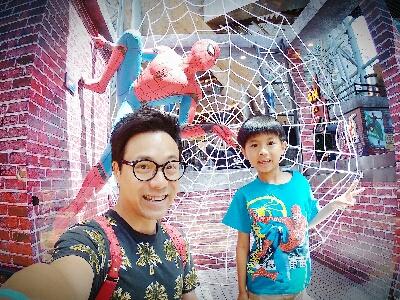 2017-06-29 章志文的影片 朗豪坊遇上蜘蛛俠