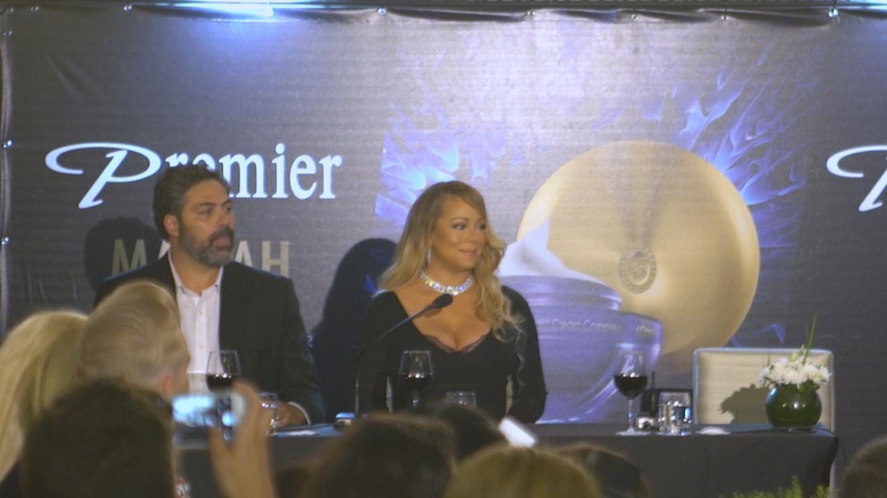 MariahCarey以色列出席活動 愛作曲抒發自我