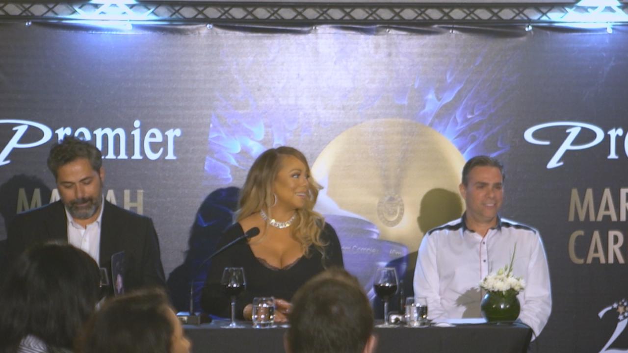 (國語)MariahCarey以色列出席活動 愛作曲抒發自我