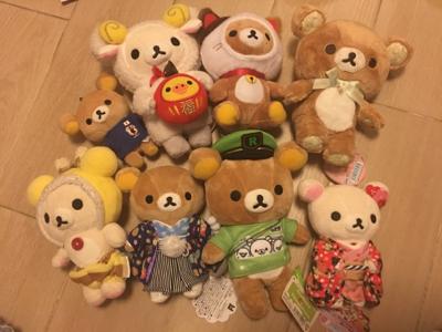 台灣暴龍媽的鬆弛熊收藏分享
