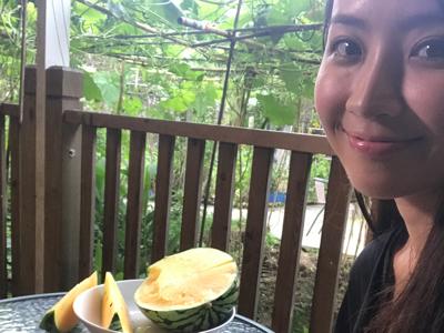 2017-07-02 今日拍食西瓜