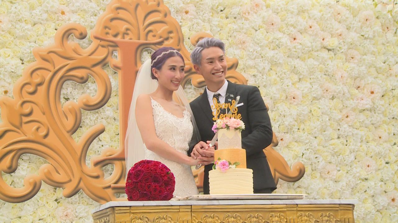 陳柏宇輕易通過接新娘挑戰 符曉薇笑言感失望