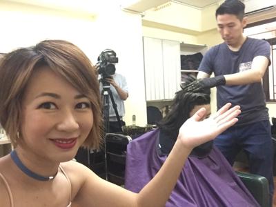 07-03直播Henna染髪