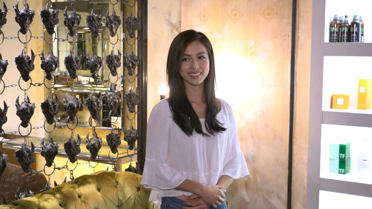 2017香港小姐候選佳麗大變身 接受專業指導執靚髮型