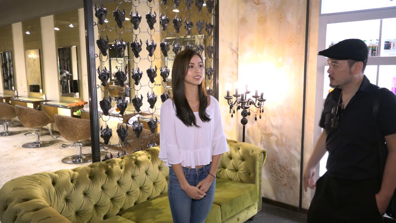 (國語)2017香港小姐候選佳麗大變身 接受專業指導改造髮型