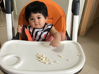 2017-07-08 Mia's snack time