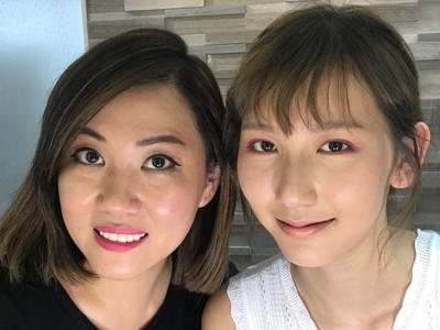 色彩眼線妝Part 2