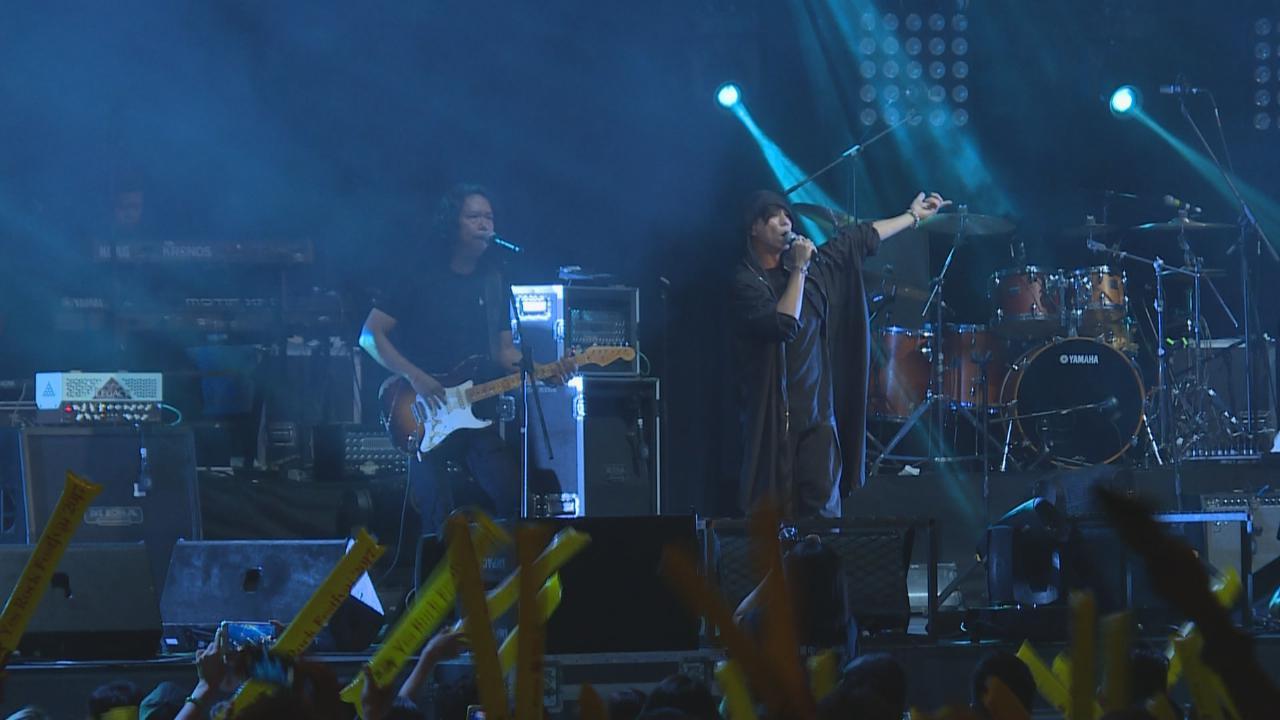(國語)現身搖滾音樂節 太極樂隊打頭陣演出