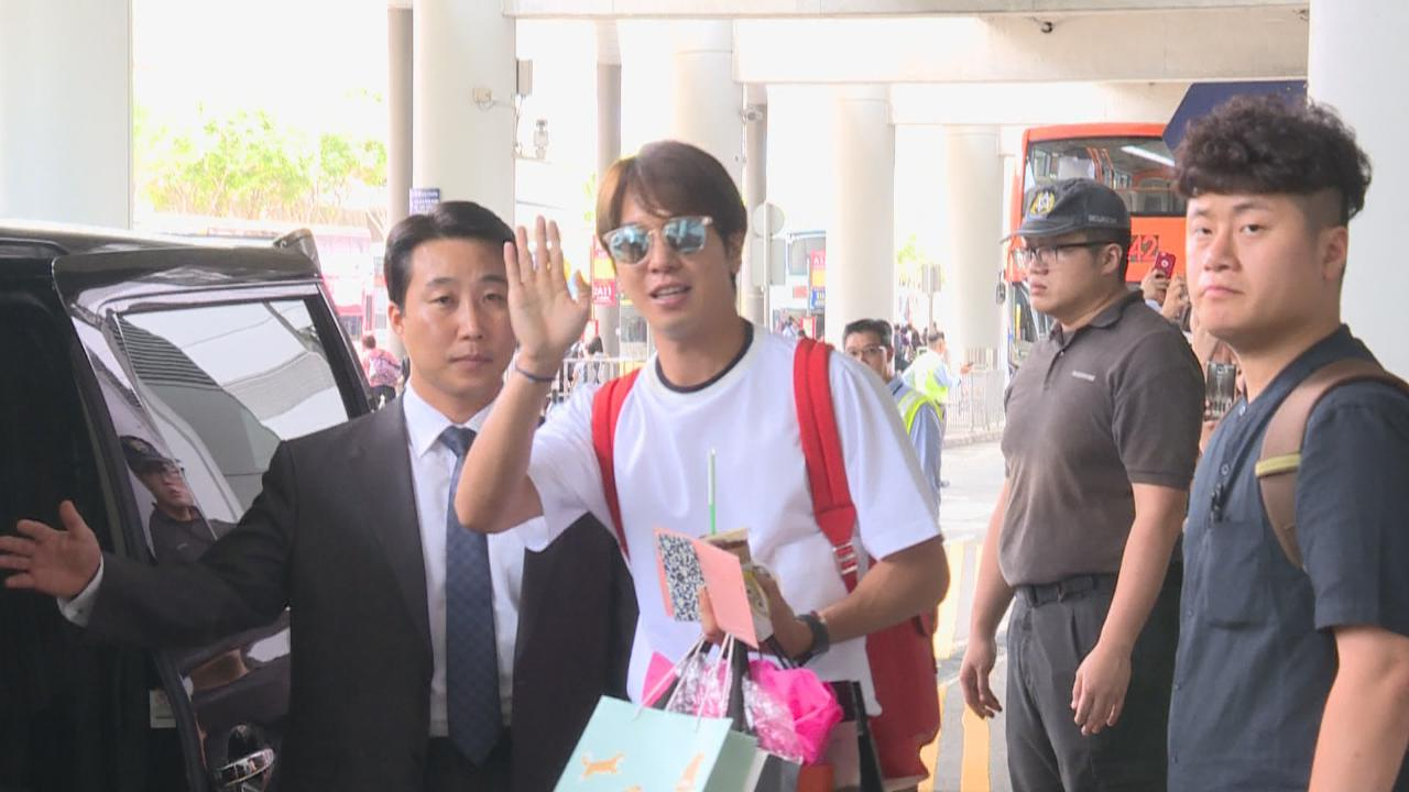 (國語)赴港擔任宣傳大使 鄭容和親自接收粉絲禮物