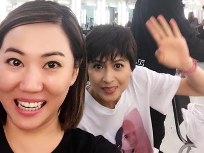 在TVB 化妝間化我的邵美琪