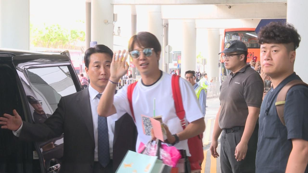 來港擔任宣傳大使 鄭容和親自接收粉絲禮物