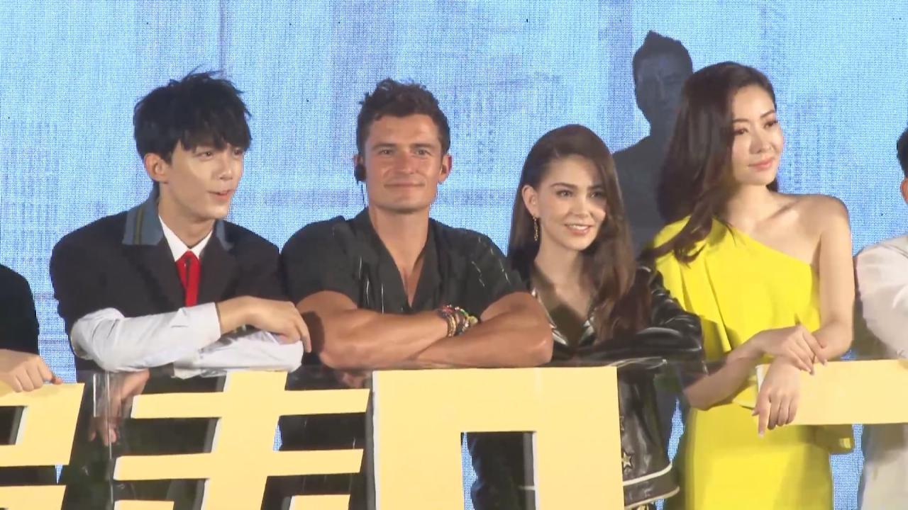 Orlando Bloom大讚新戲拍檔與劇本 欲推薦荷李活明星到中國拍戲