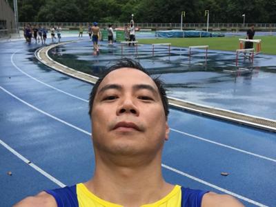 2017-07-15 崔錦棠 跨欄訓練
