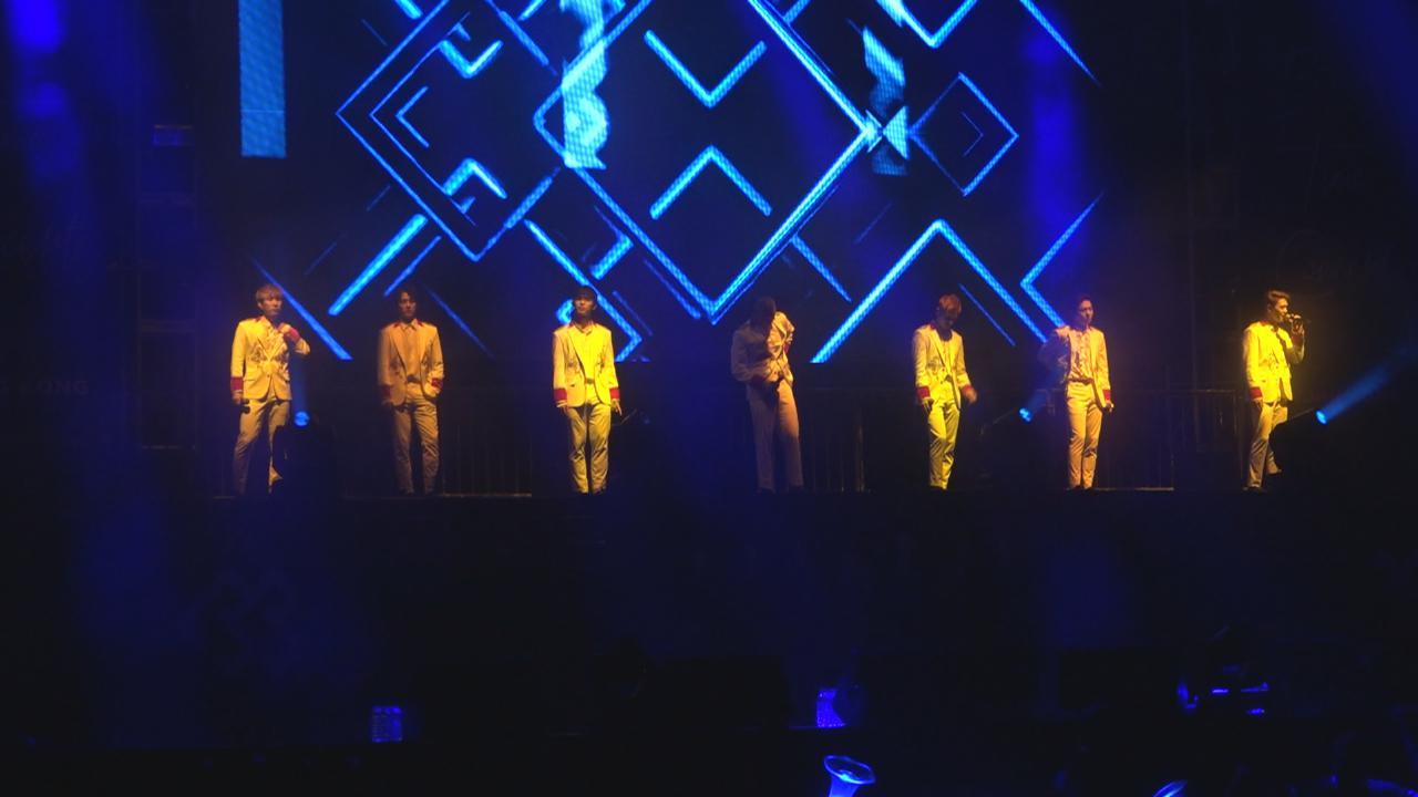 BTOB再度訪港開演唱會 帥氣登場勁歌熱舞