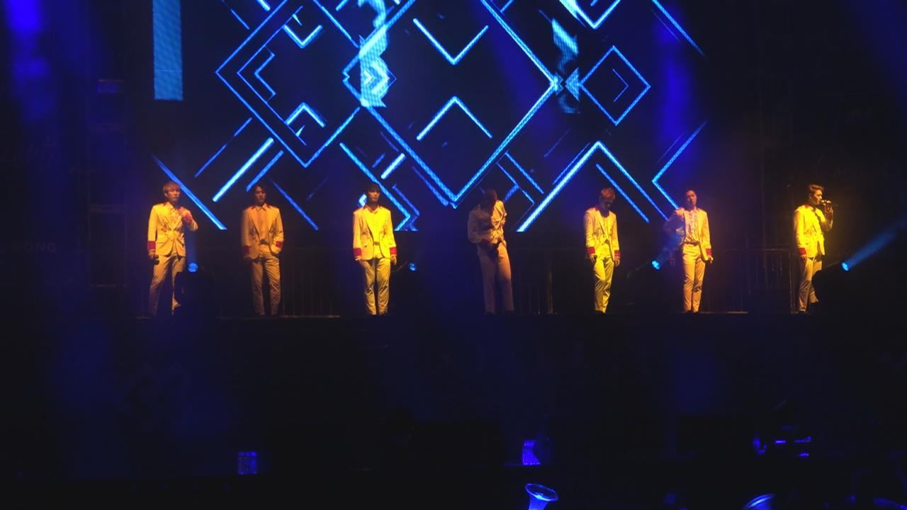 (國語)BTOB再度訪港開演唱會 帥氣登場勁歌熱舞
