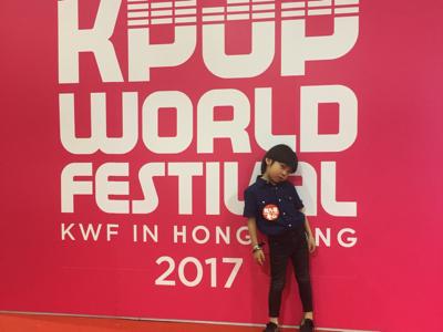 2017-07-16 Kpop world festival Hong Kong 2017 Casperbibi的直播