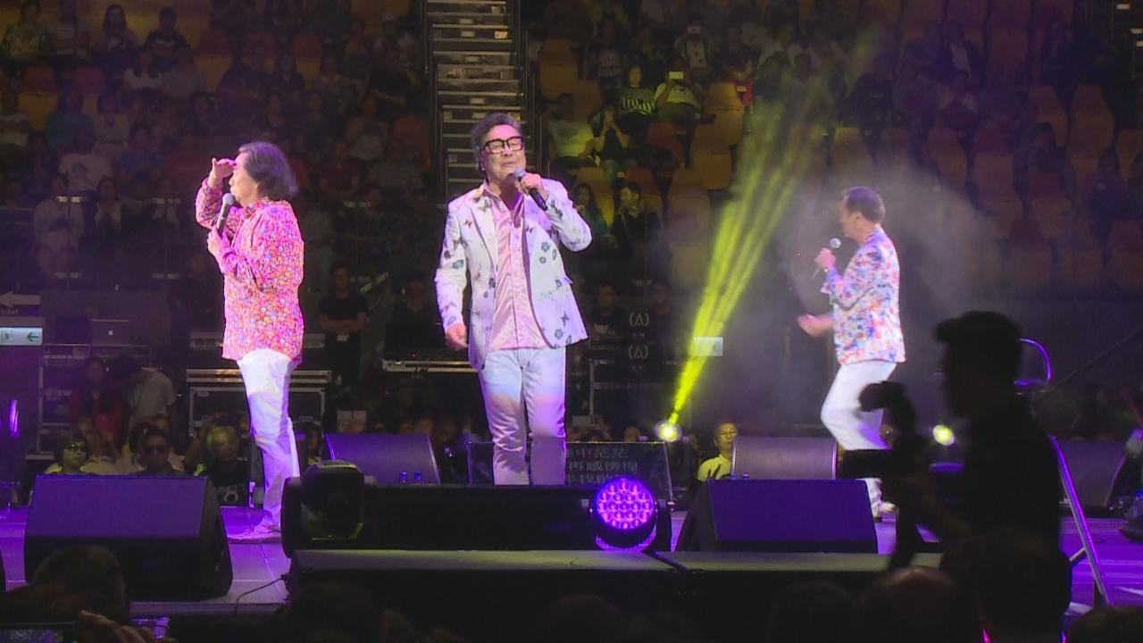 (國語)龍威武演唱會尾場 三人賣力獻唱經典歌曲