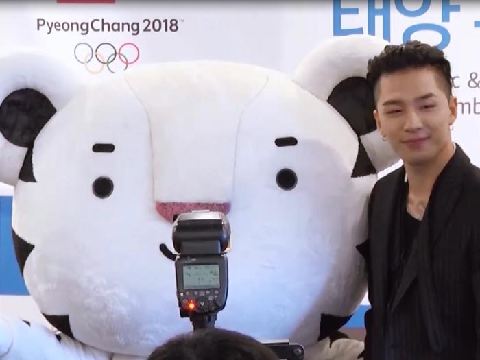 BIGBANG太陽任冬奧宣傳大使