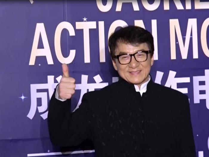 成龍上海活動揭幕 星光熠熠