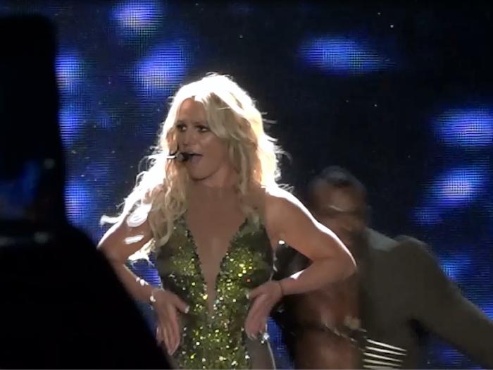 Britney Spears首來港開騷 粉絲high爆