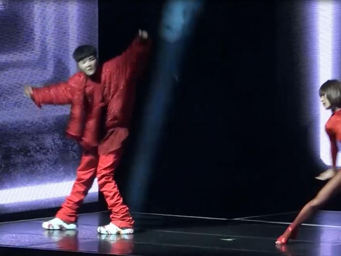 GD六呎高台舞戰火辣dancer