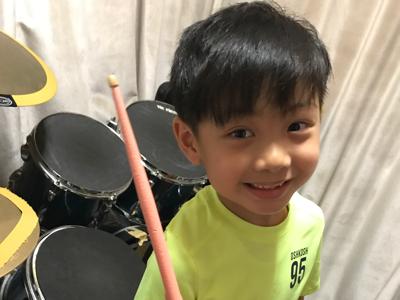 2017-07-19 趙家亨nCameron on drums