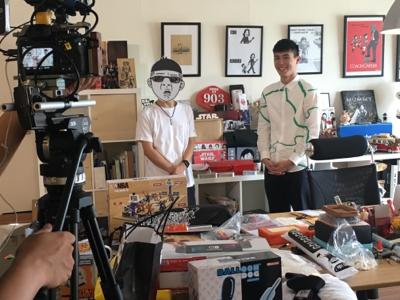 2017-07-20 TVB 台灣製作中心的直播