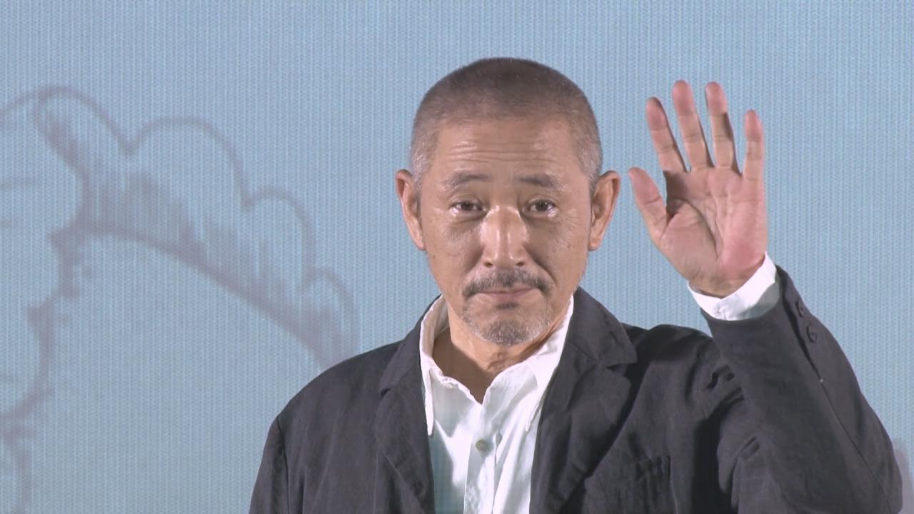 北京宣傳新戲續集 小林薰即席演繹電影對白