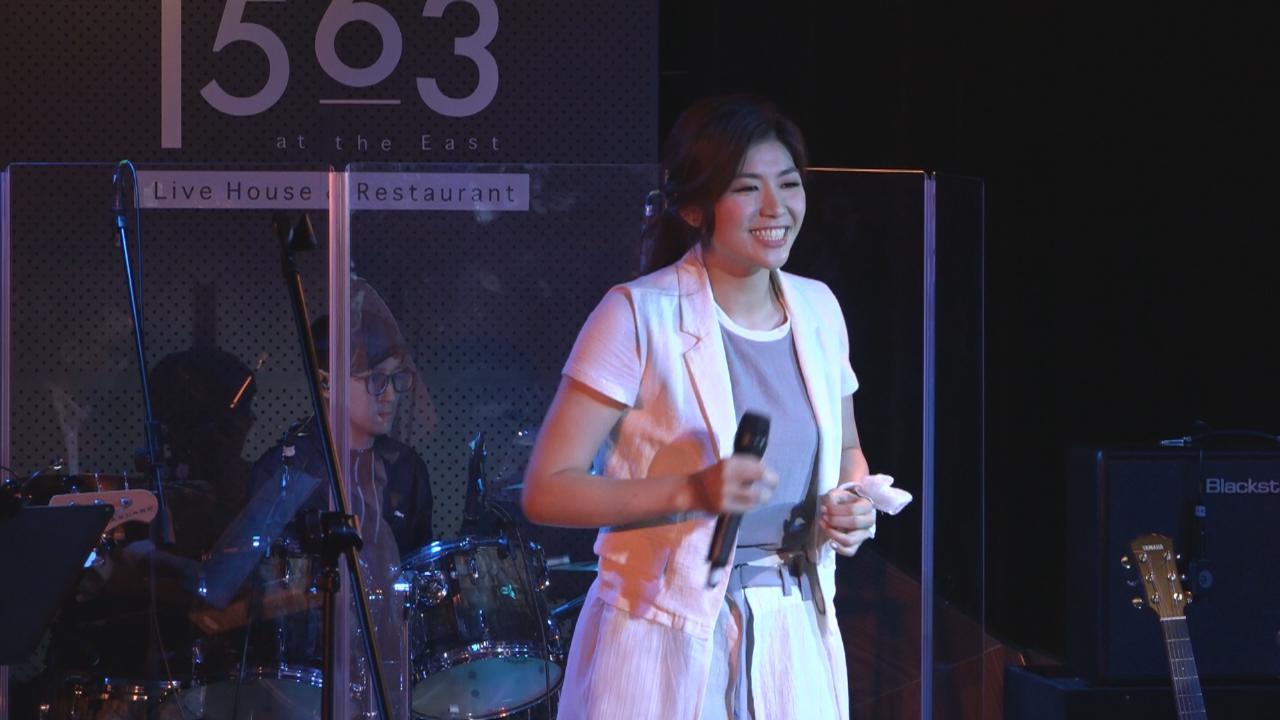 (國語)舉行個人迷你音樂會 陳凱彤賣力秀唱功