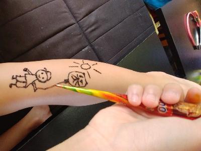 22.7.17 暑假的紋身