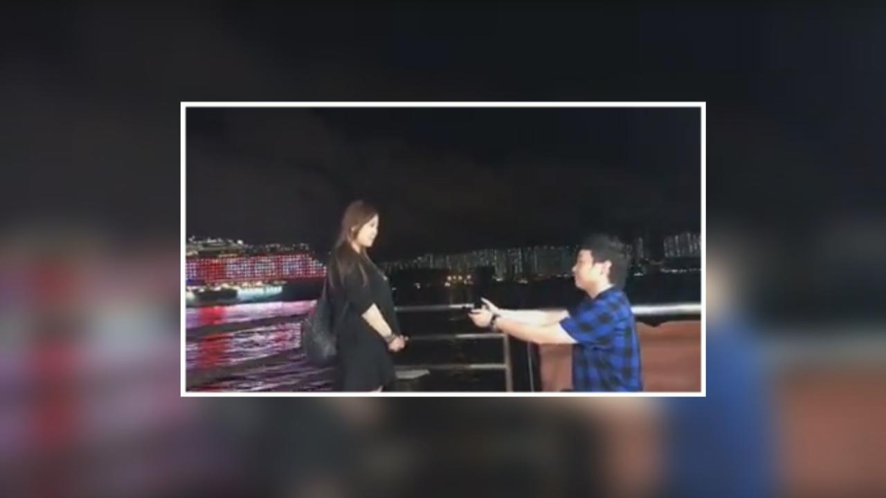 葉文輝為圈外女友炮製驚喜 社交網站直播求婚過程