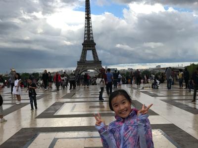 2017-07-22 Goldgi敏鴻在艾菲爾鐵塔