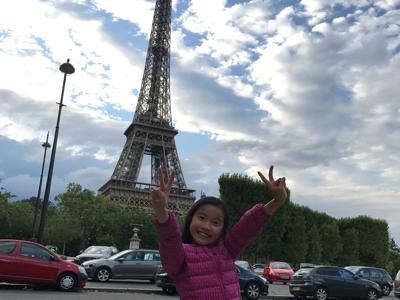 2017-07-22 Goldgi 在艾菲爾鐵塔prt2