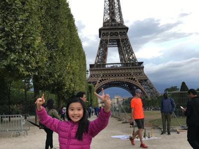 2017-07-22 Goldgi 在艾菲爾鐵塔