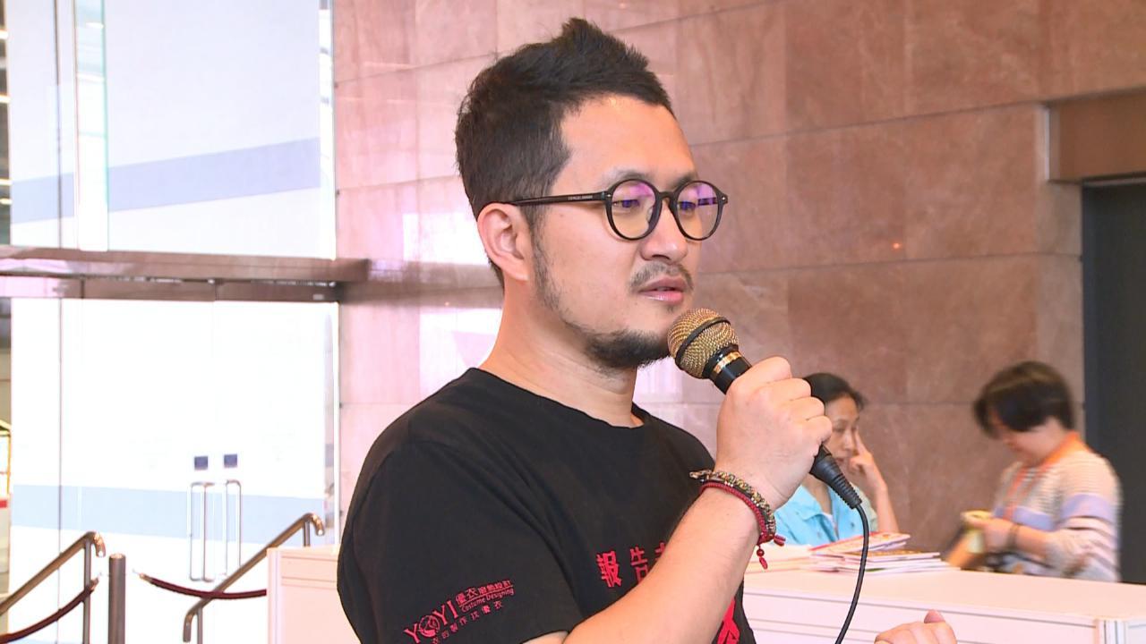 (國語)現身香港書展宣傳新作 九把刀笑言隨心寫作
