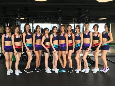 香港小姐 fitness class 360度全面睇