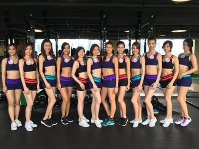 香港小姐fitness class後感