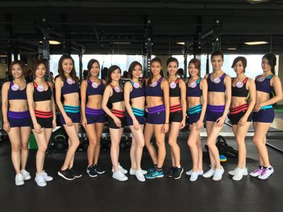 香港小姐fitness class後感 2