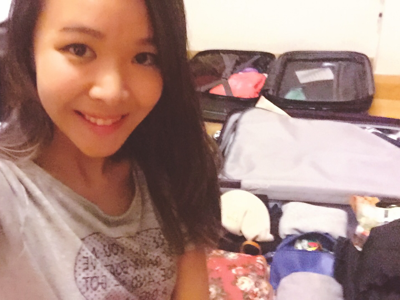 Taiwan Suitcase Packing!