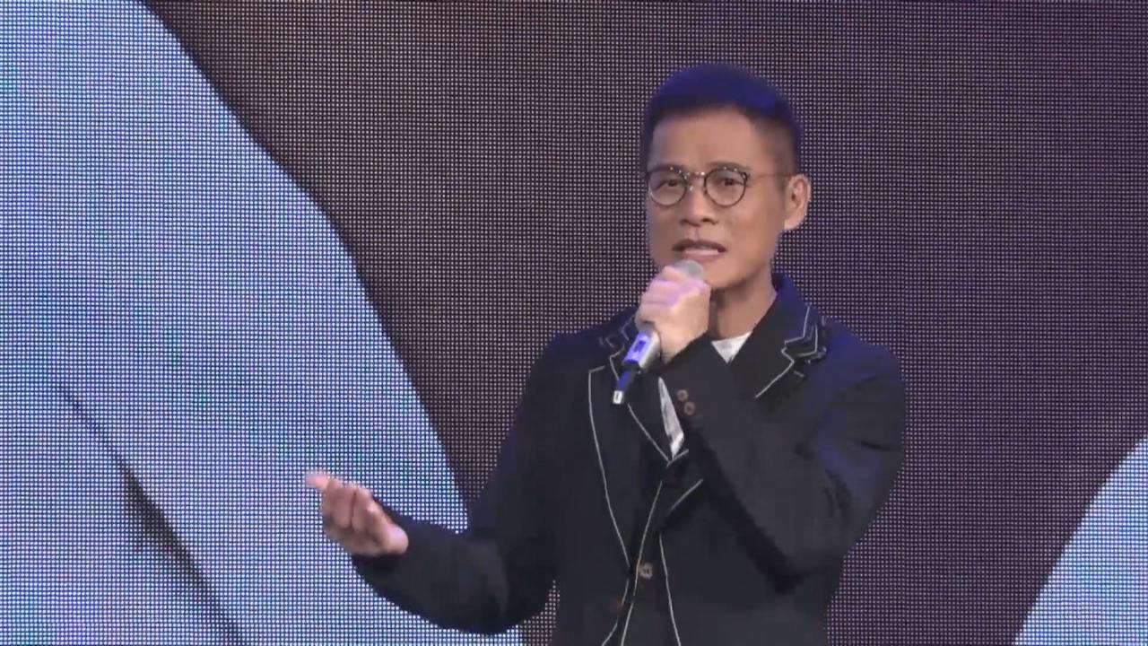 台北舉行新碟記者會 羅大佑即場獻唱新歌