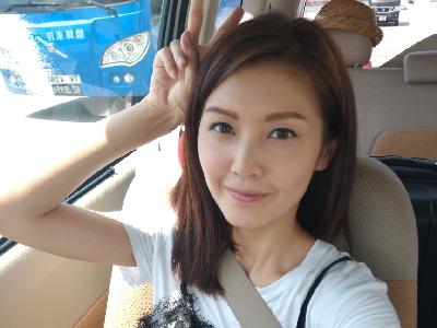 陳庭欣 Toby Chan 去機場的路上