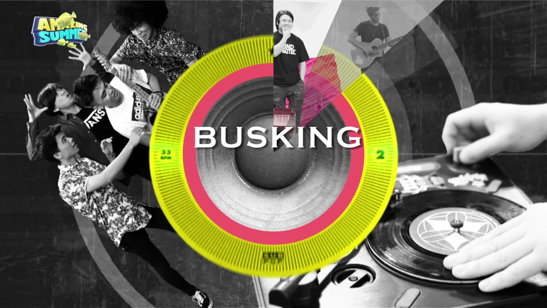 《Busking不停音樂》逢星期五夜晚9點J2