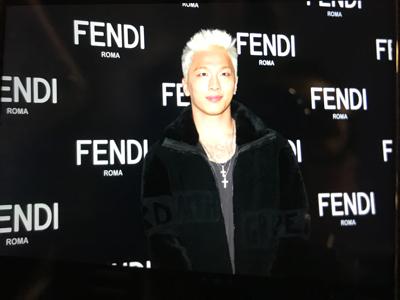 FENDl活動 太陽現身