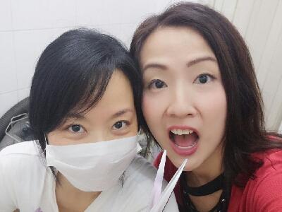 2017-07-29 梁珈詠 大頭  又來剪??pat pat 三級美容